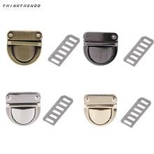 Turn-Lock Purse Hardware Handbag-Bag Closure-Bag Clasp Metal for DIY