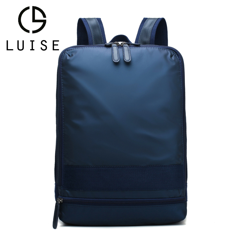LUISE Brand Men 14inch Laptop Backpack New Style Fashion Cas