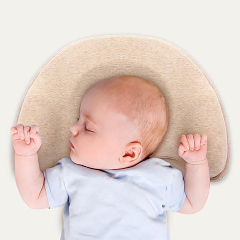 Comfortable Baby Pillow Newborn Shaping Pillows Nursing Pillow Baby Sleeping Head Protection Cushion Infant Anti Roll Cushion