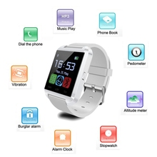 Bluetooth Smart Watch Smartwatch U8 U80 U MTK Freisprech Digitalen-uhr Sport Armband armband für Huawei/iphone/Samsung iPhone