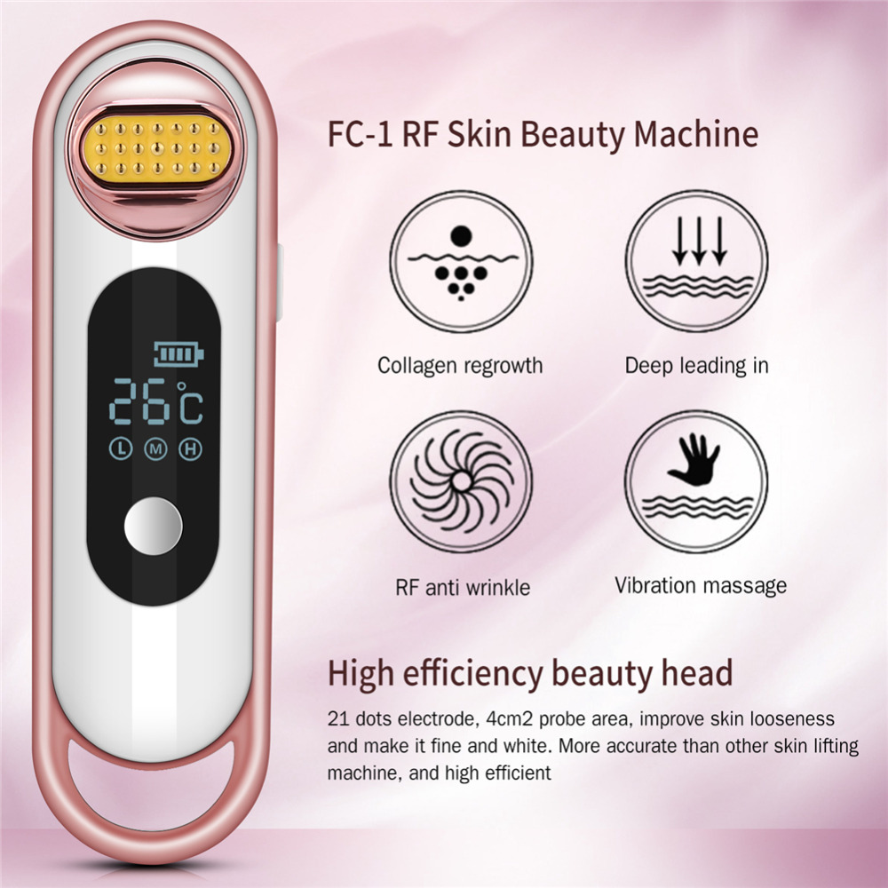 цена на Face Massager Electric Facial Skin Lifting Skin Rejuvenation Wrinkle Acne Removal Anti-Aging Beauty Machine Skin Care Tool