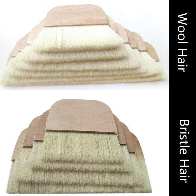 Мягкие шерстяные кисти для краски высококачественные щетинки