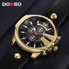 Relogio Masculino DOOBO для мужчин часы Новый Топ Роскошные Популярные Брендовые Часы Человек Кварцевые Золотые часы для мужчин часы 8176