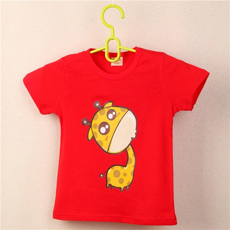 FHADST-Summer-Unisex-Baby-0-2-year-Boys-Red-Cool-T-shirt-Short-Sleeve-100-Cotton-Casual-tees-Kids-Clothes-Character-Cute-Animal-1