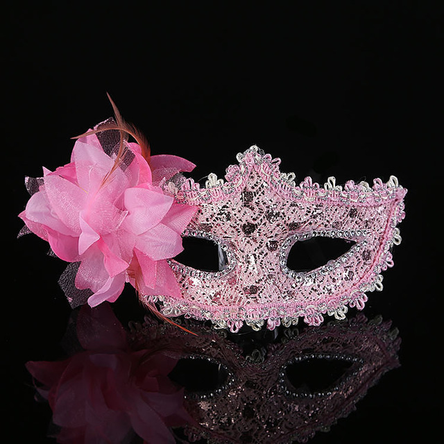 Halloween Makeup Dance Princess Party Masks Embroidered Venice Mardi