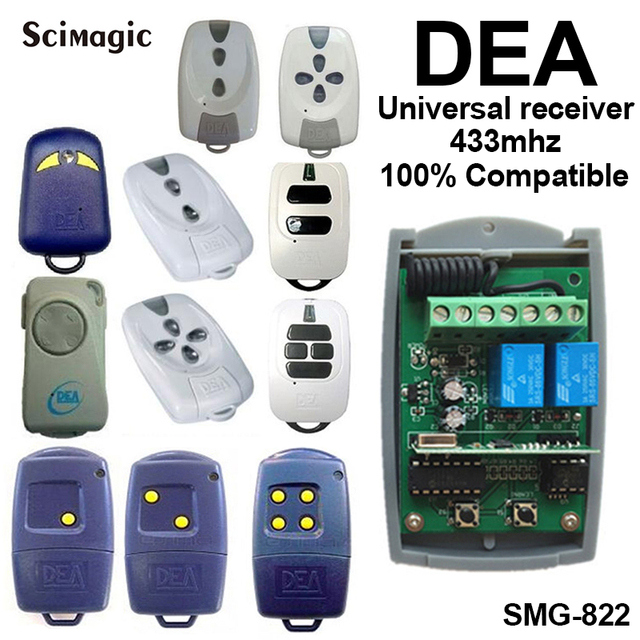 433,92MHz DEA Garage Door Remote Control Receiver DEA MIO GT2 GT4 TR2 TR4 Receiver DEA Receiver 433MHz