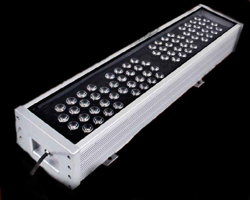 72 Вт Refletor пятно Exterieur прожектор Пейзаж Ip65 AC 85 В 265 В Наружное освещение линейный светодиодный стены прожекторы лампы прожектор
