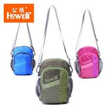 Hewolf 2L Nylon Cloth unisex Multifunction shoulder messenger waist bag Leisure Sport Bag outdoor bag for camping hiking