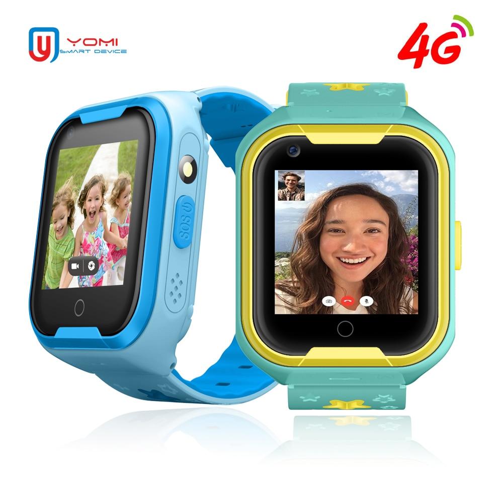 2018 4G montre intelligente pour bébé enfants étanche GPS WIFI tracker Smartwatch soutien appel vidéo télécommande montre horloge pour enfant