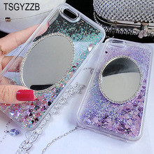 Glitter Mirror Dynamic Liquid Quicksand Case For Xiaomi Mi 6 A1 5S Plus 5X 5C Cases Redmi Note 4 4X 5 Pro Silicon Soft Cover