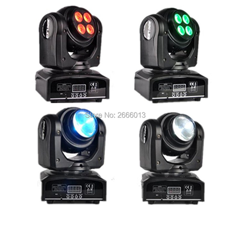 4pcs/lot LED Beam Wash Double Sides Light 4 x10W+1 x10W,Two Face RGBW DMX512 Rotating Moving Head Stage Lighting For Disco Party 2pcs lot led beam wash double sides 4 x10w 1x10w rgbw 4in1 moving head stage lighting dmx led stage pattern lamp rotating dj