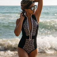 2017 Sexy One Piece Swimsuit Women Swimwear Bodysuit Swimsuits Summer Beachwear Bathing Suits Monokini Push Up