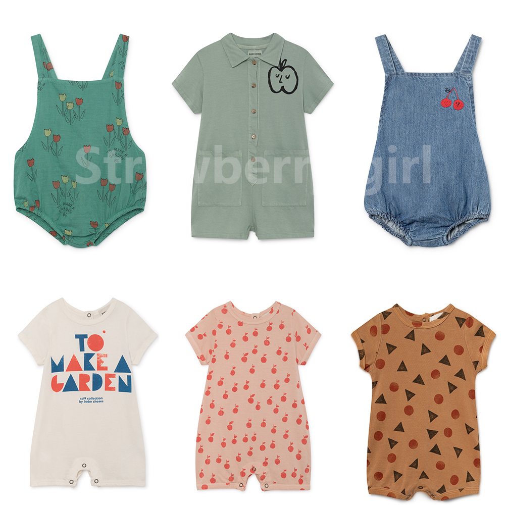 Baby costume Bobo Choses 2019 Baby   Rompers   Boys Girls Summer Clothes Jumpsuit Infant New baby Fashion   Rompers   baby girl clothes