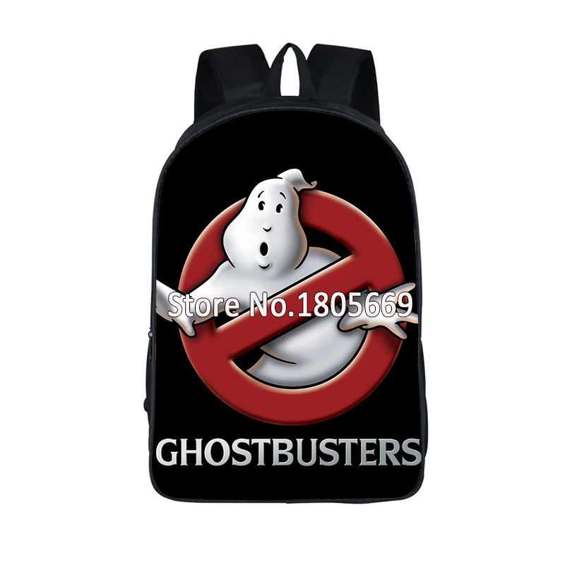 Ghostbusters Backpack For Teenage Cartoon Children School Bags Women Men Ghostbusters Travel Bags Boy Girl School Backpack cartoon melanie martinez crybaby backpack for teenage girls school bags backpack women casual daypack ladies travel bags