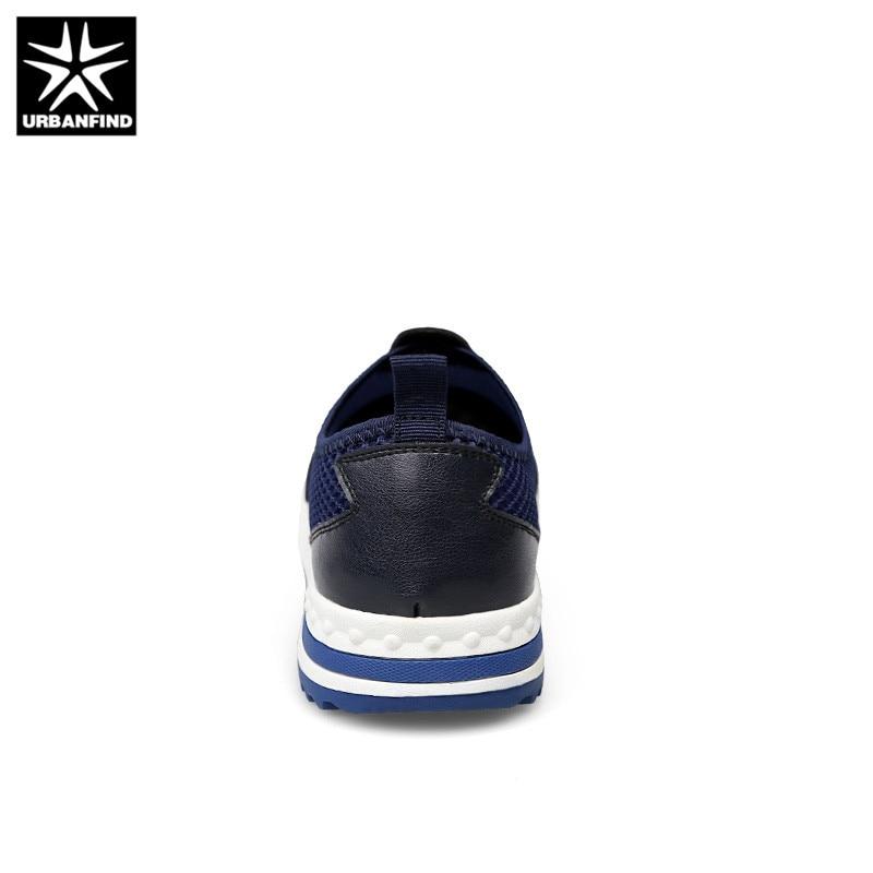 Sur La Respirant Chaussures Glissent Plus blue Casual Hommes Pour Taille 37 Printemps De Le Maille Urbanfind Sneakers Black 47 Homme Marche D'été Yqv66