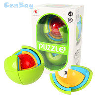 3D Puzzle Maze Ball Intelligent Brain Teaser Game For Kids IQ Training Logical Magic Puzzle Children