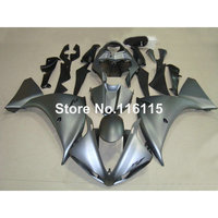Injection molding ABS full fairing kit fit for YAMAHA YZF R1 2009 2014 YZF R1 09 10 13 14 all matte black fairings set CQ29
