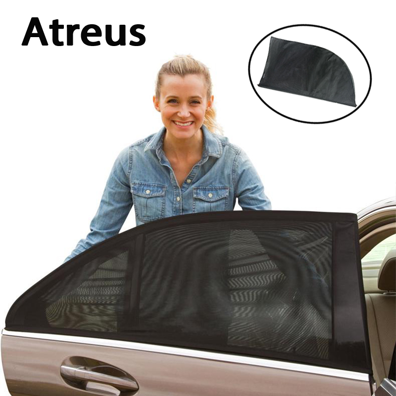 Car Window Sun Shade Visor Curtain Covers For Audi A3 A4 B6 B7 B5 A5 Volvo S60 S70 BMW F30 E90 E46 E36 E30 F32 Mazda 6 3 axela image