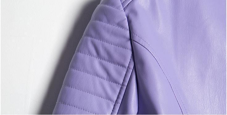 Cuir Veste La 2016 Jacket Leather En Chaquetas Women De Pu Primavera TxqvqBX0w