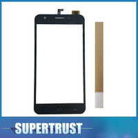 For Ark Benefit M502 M 502 Touch Screen Panel Sensor Lens Glass Digitizer Replacement Black Color with tape