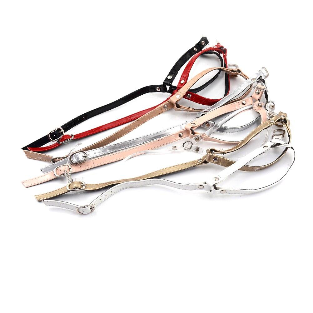 1 Paar Frauen Pu Leder Schuhe Gürtel Bequem Ankle Schuh Krawatte Dame Strap Spitze Band Für Holding Lose High Heels Exquisite Handwerkskunst;