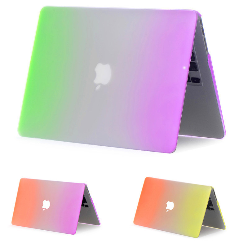 Rainbow Hard Rubberized Case Cover For 2018 New Macbook Air 13 Inch A1932