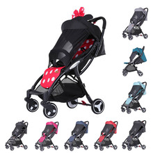Yoya Mini stroller lightweight Bebe cart Portable Folding Baby carriage  Baby trolley  Large awning One handed operation victor 6056e vc6056e digital clamp meter jaw open 55mm portable design can be one handed operation