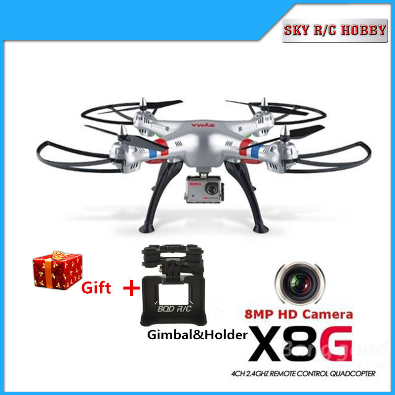 SYMA X8G 2 4G 4CH 6 Axis Venture with 5MP 8MP Wide Angle HD Camera font