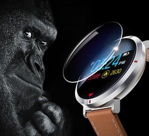 Image 4 - معدل ضربات القلب الرياضة ساعة ذكية أندرويد هواتف الايزو المحمولة بلوتوث ساعة ذكية الرجال الرقمية ضغط الدم ساعة ذكية es E28