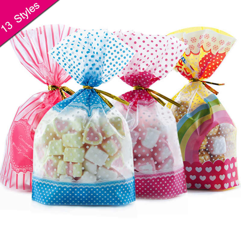 50 Pcs Candy Bag Packaging For Sweets