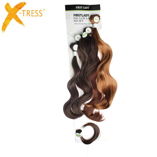 Aliexpress Buy Ombre Black Brown Body Wave Synthetic Hair