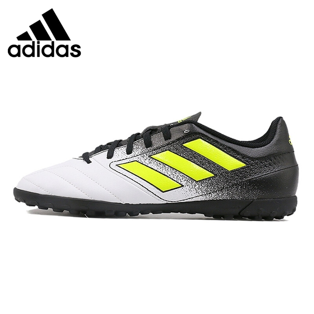 c0338bbde2e6 Original Adidas ACE 17.4 TF Men s Football Soccer Shoes Sneakers Outdoor  Sports Waterproof Designer 2018 New Arrival S77112