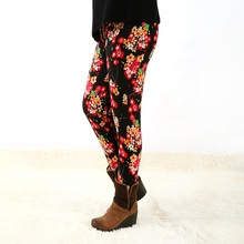 1191fashion womens bottoms high elastic pants capris comfortable plus leggings american style popular print free shipping xxxxxl