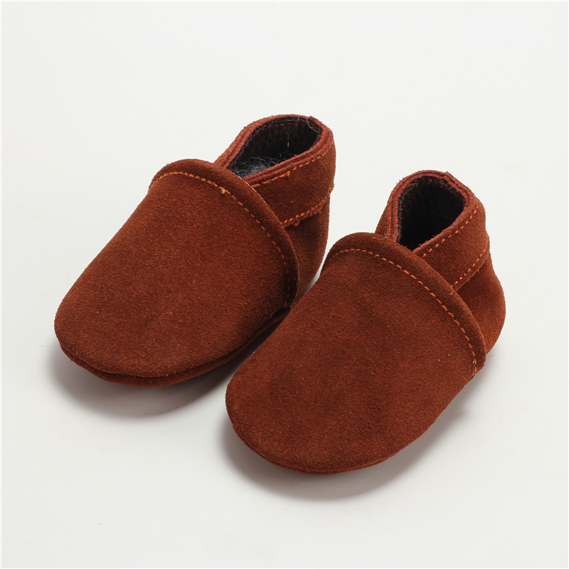 100-Genuine-Leather-Baby-Boys-Shoes-Baby-Moccasins-Crown-and-Stars-Soft-Bottom-First-Walkers-Free-shipping-4