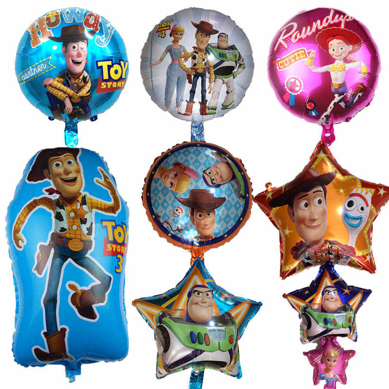 1Pcs Big Size Buzz Lightyear Shape Balloon Story Party Decoration Toy Foil Helium Balloons For Birthday Party Supplies