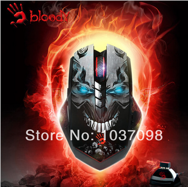 A4Tech Bloody Hands Phantom R8 Wireless CF/LOL/DOTA Gaming Mouse 3200DPI Mice for PC Laptop Desktop Notebook