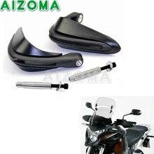 Motorcycles Hand Protector Guard Black 7/8