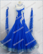Modern Waltz Tango Ballroom Dance Dress, Smooth Ballroom Dress,Standard Ballroom Dress Girls B-0011