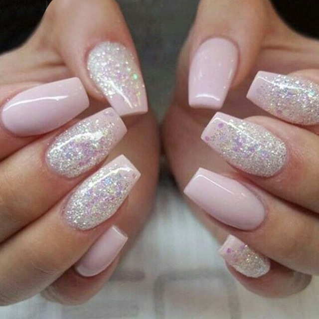 500pcs Fashion Fake Nails Press On S Finger Beauty False Nail Plastic Art Tips Full