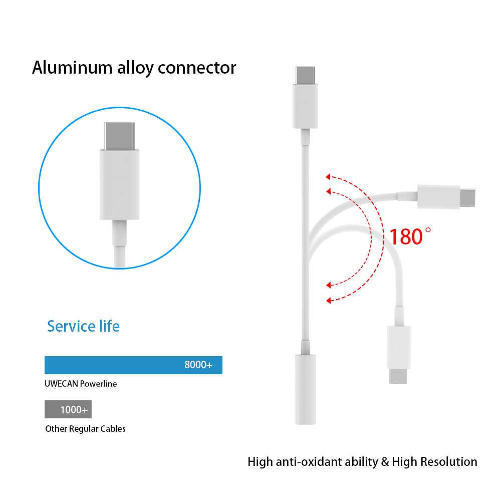 タイプ C オス 3.5 ミリメートル Aux 女性ステレオイヤホンジャックデジタルオーディオ USB C アダプタ ipad プロ Huawei 社 p20 Google ピクセル 2/2XL 3 XL