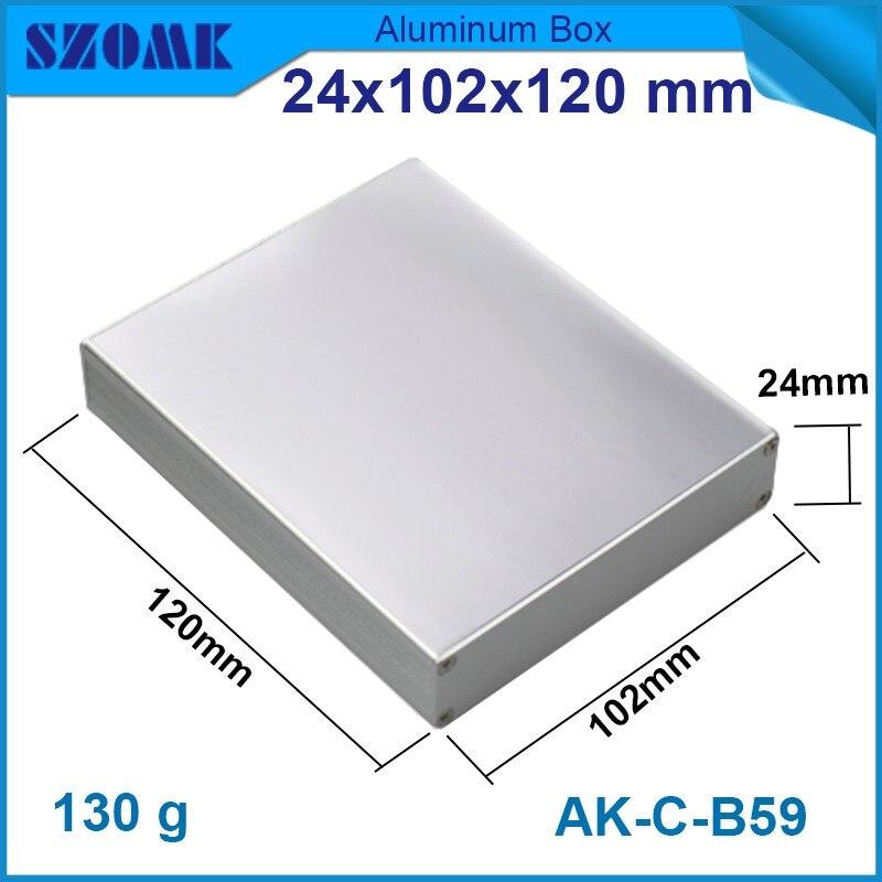 10 pieces szomk control enclosure electronics logo design draw latches 24*102*120mm  0.93*3.98* 4.72inch