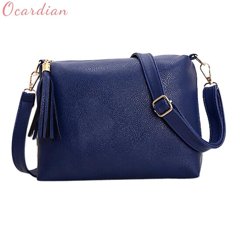 NEW Ocardian Women Bag Bolsa Feminina Women Tassel Leather Bag Crossbody shoulder messenger bags drop shipping #0428