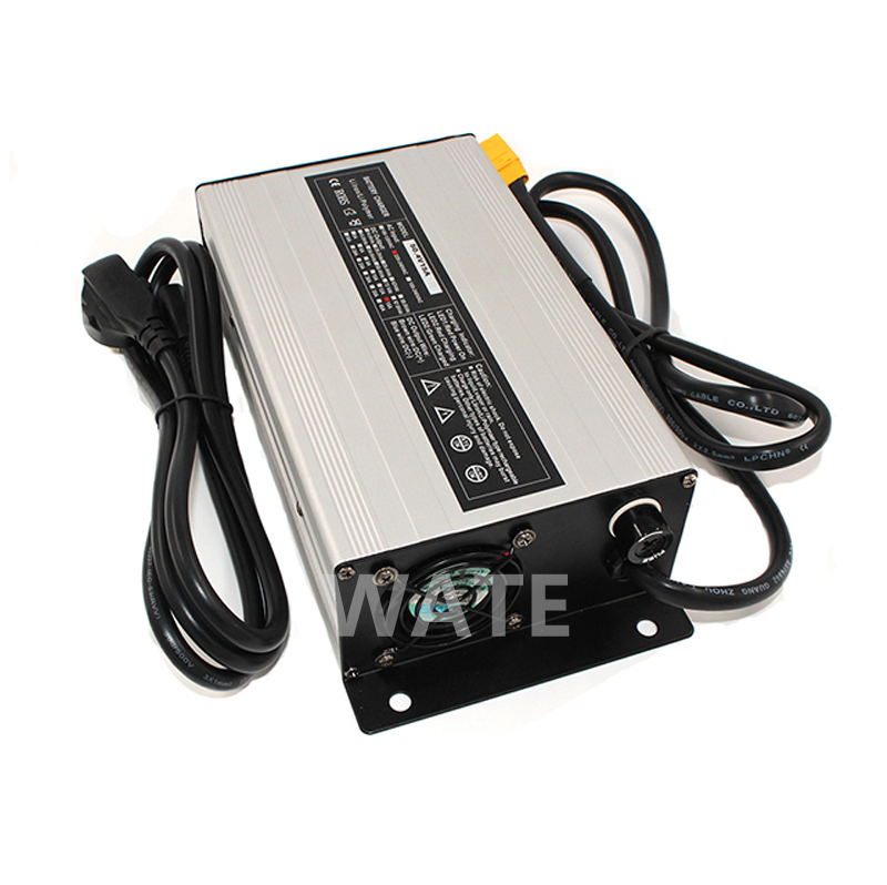 Intellective Customized 1200w Series 12v 50a 24v 30a 36v 20a 48v 20a 60v 15a 72v 12a Battery Charger For Lead Acid Lithium Or Lifepo4 Battery Consumer Electronics