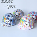Han edition children all cotton padded cap spring/summer sunshade private hat lovely baby son cap