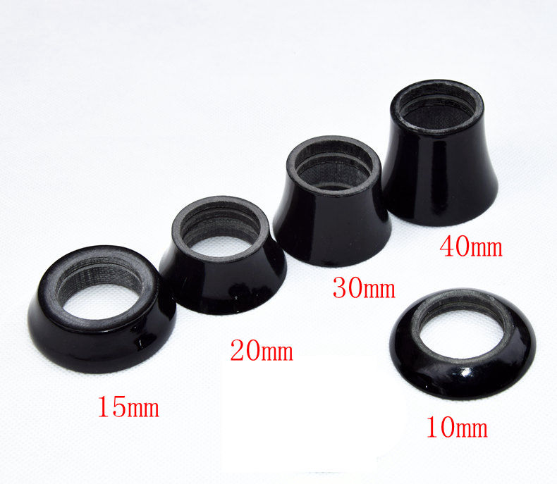 New Road bicycle full carbon headsets taper washer Mountain bike carbon headsets cover stem spacers MTB carbon parts Free ship