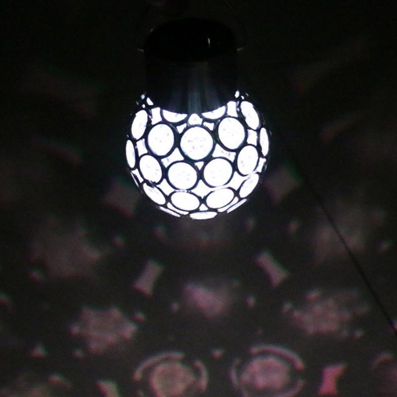 Lâmpadas Solares d' Água luz pavão olho Garden Solar Light : Lampe Solaire