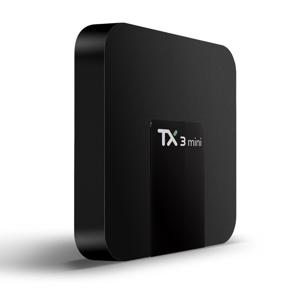 TX3 Mini Android 7.1 TV Box Amlogic S905W 64 Bit 2.4GHz WiFi 2GB RAM 16GB ROM Support 4K HDMI 1.4 Media Player Set Top Box