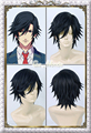 2015 New Arrival Uta No Prince Sama Ichinose Tokiya Wig Dark Blue Short Shaggy Layered Anime Cosplay Wig Hair Free Shipping