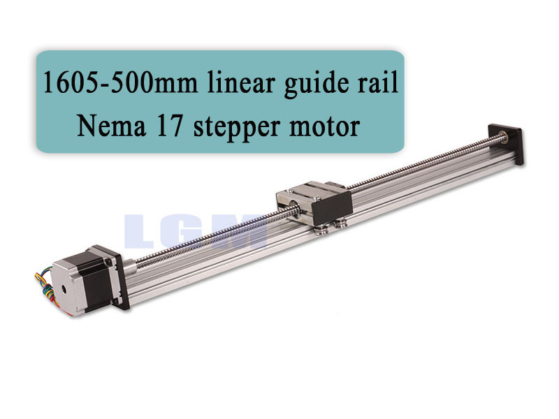 Cnc Rail Kit Linear Bearing Slide Rail 500mm Linear Rails