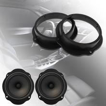 2pcs 6.5in Car Front Door Speaker Spacer Ring Adapter Plates for Car Styling Mounting Bracket Spacer Ring